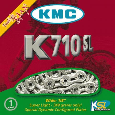 Lant KMC K710 SL 1/2x1/8 GOLD 100L