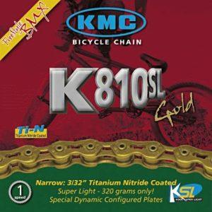 Lant KMC K810 SL 1/2X3/32 GOLD 100L