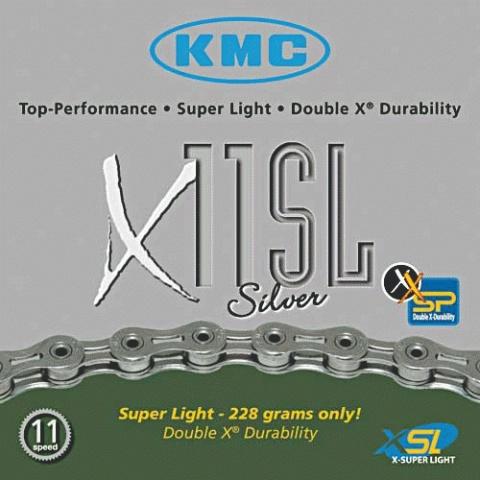 Lant KMC X11 SL SILVER 114L
