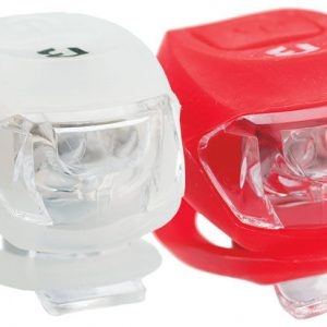 Lampa set BIKEFUN PIXIE F+S 2+2 LED