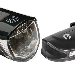 Lampa set BIKEFUN RAY II F+S USB