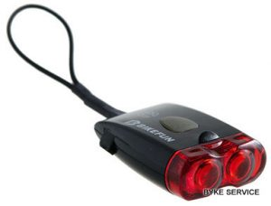 Lampa spate BIKEFUN RAY 2 LED USB