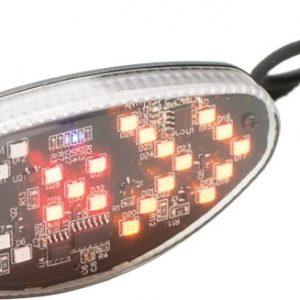 Lampa spate BIKEFUN TURN cu undicator directie - JY-1305