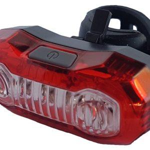 LAMPA SPATE VELOTECH 3+2x0,5W LED USB