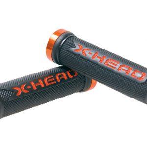 Maner ghidon BikeFun X-head Lock-On portocaliu