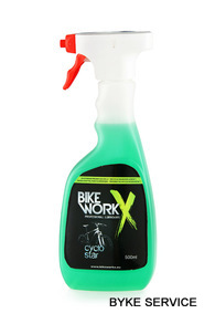 Solutie de curatare BikeWorkx CYKLO STAR spuma Spray 500 ml