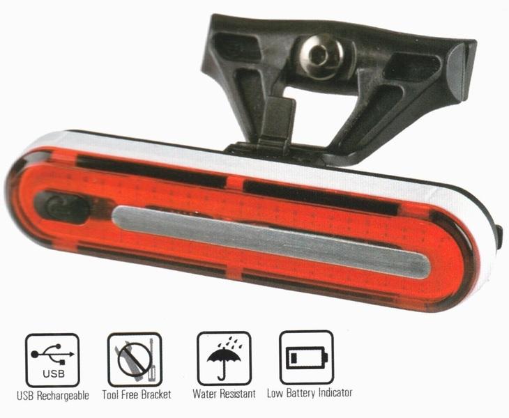 LAMPA SPATE VELOTECH 50 CHIPLED USB