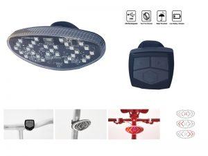 LAMPA SPATE SEMNALIZARE USB VELOTECH