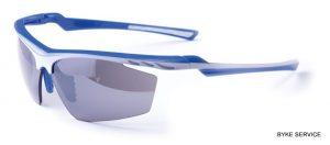 Ochelari BIKEFUN MACH1 albastru/alb