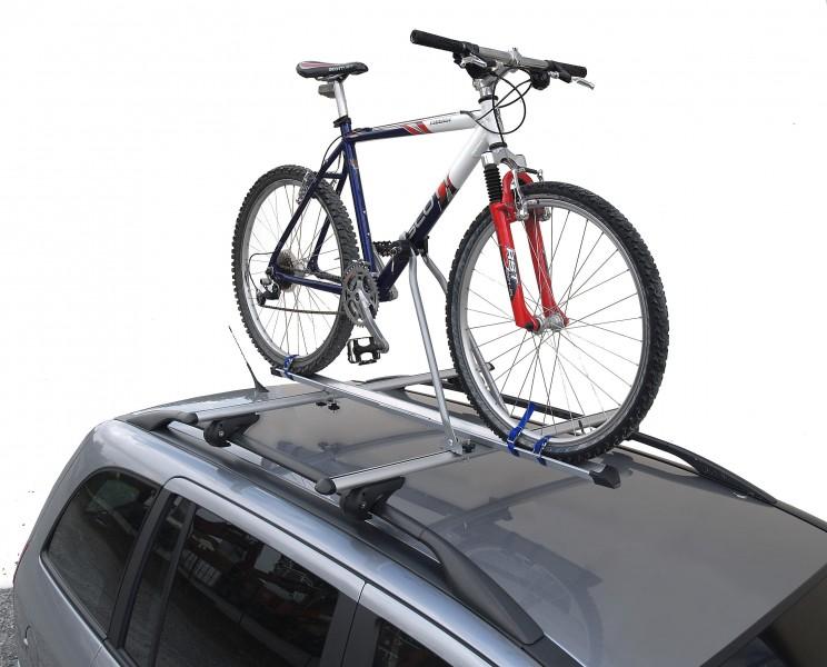 Suport bicicleta Menabo Top Bike pe bara transversala